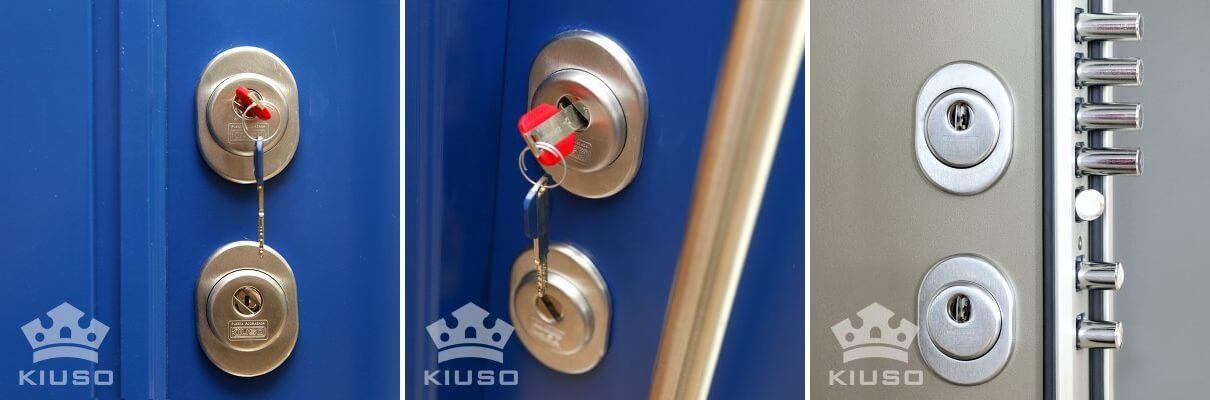 doble cerradura para puerta acorazada