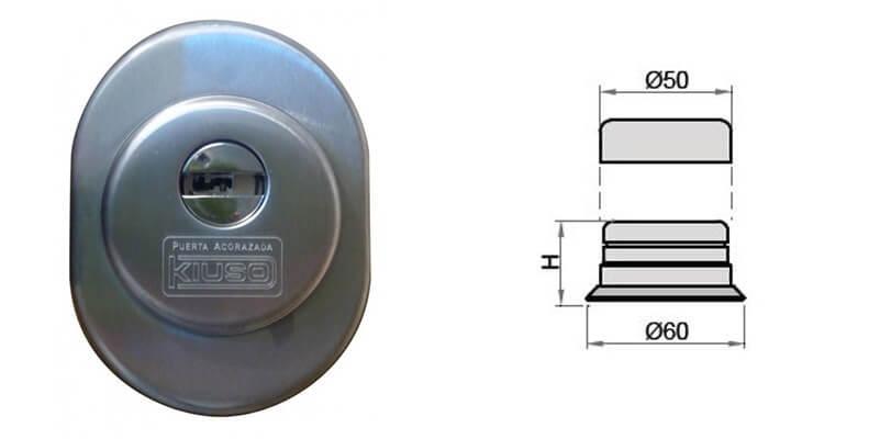 escudo protector estandar puerta acorazada