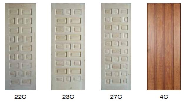 paneles castellanos para puertas acorazadas