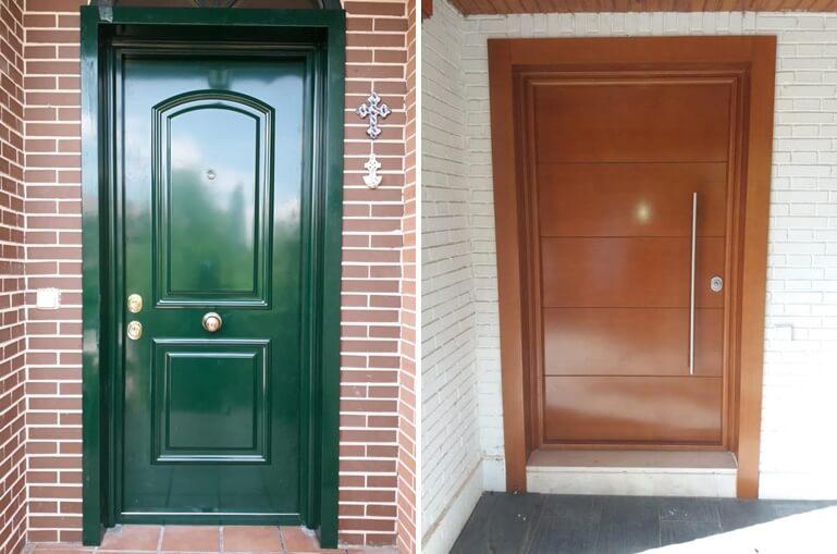 puertas acorazadas para chalets