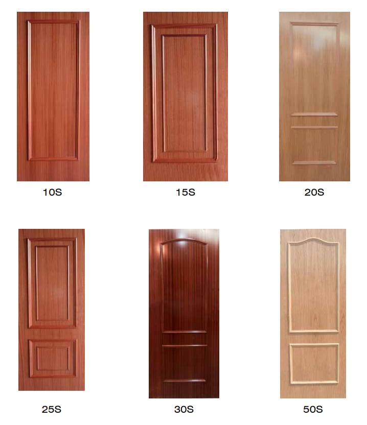 tableros moldurados para puertas acorazadas