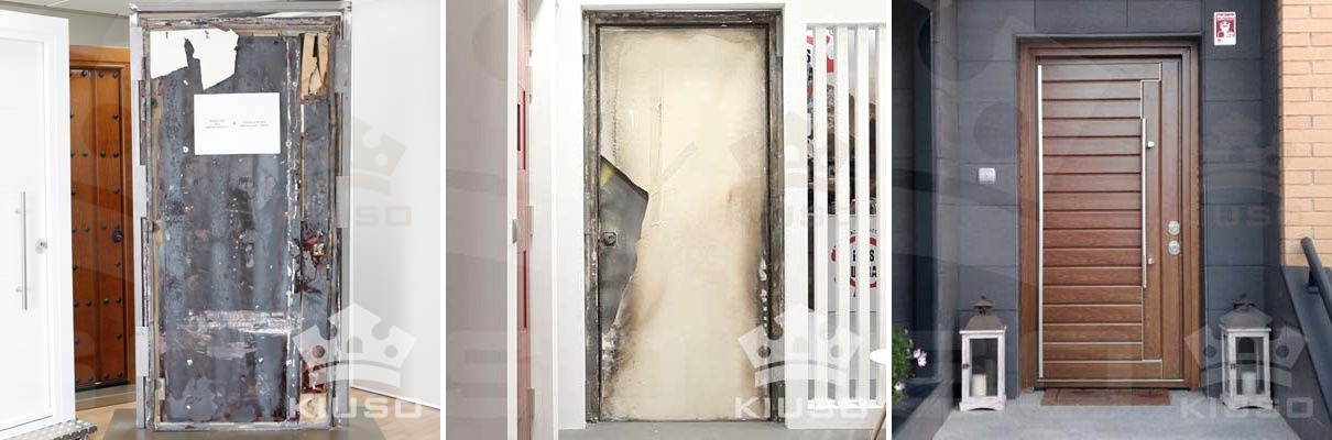 puertas acorazadas cortafuegos